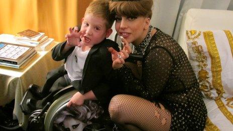 Oran with Lady Gaga