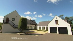Rory McIlroy's Moneyreagh home