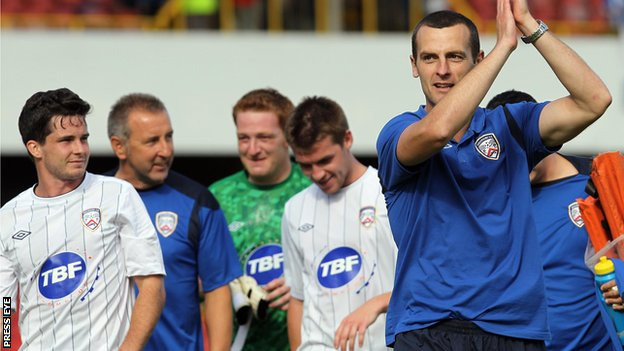 Oran Kearney's Coleraine have made a good start to the season