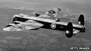 RAF Lancaster Bomber
