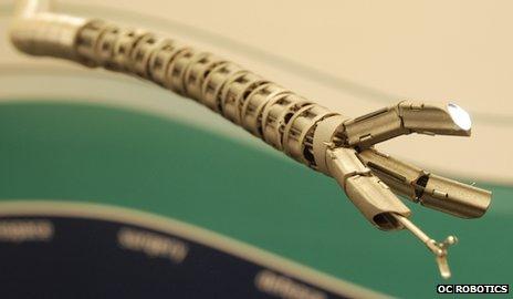 Snake robot prototype