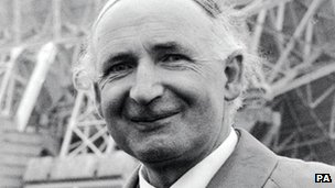 Sir Bernard Lovell in 1964