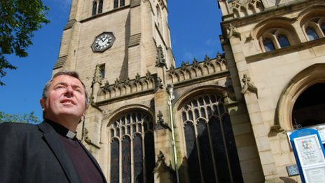 The Very Reverend Jonathan Greener, dean of Wakefield