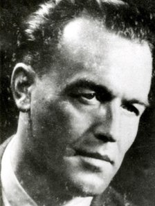 A photo of Aribert Heim released by German police in 2009 and dated 1950