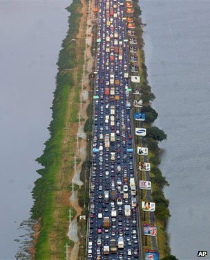 Marginal Pinheiros highway