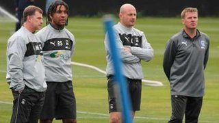 Coventry City backroom team