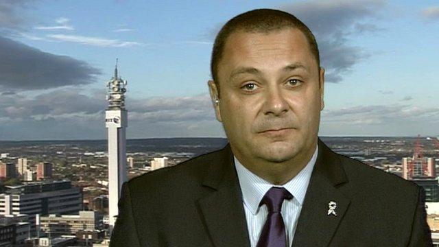 Ian Edwards, chairman of West Midlands Police Federation