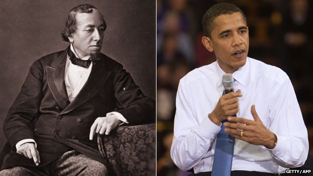 Benjamin Disraeli and Barack Obama