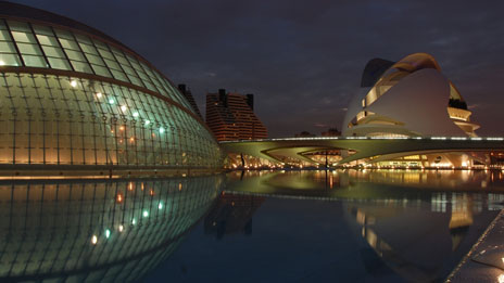 City of Arts in Valencia