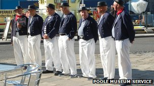 Poole sea bounds ceremony