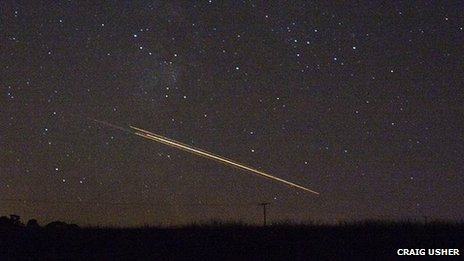 Meteor spotted over Loch Thom in Greenock