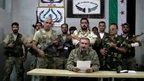 Rebel command 'moved into Syria'