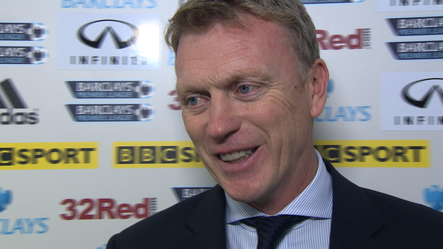 Everton boss David Moyes