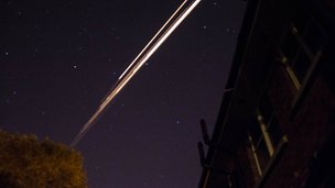 The fireball was seen by Colin Campbell in the skies over Lisburn