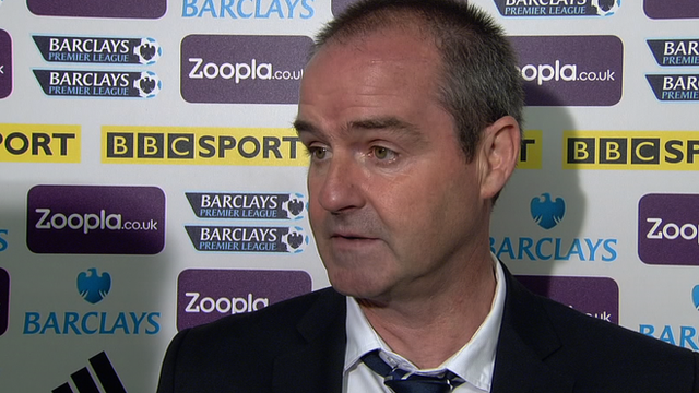 West Brom manager Steve Clarke