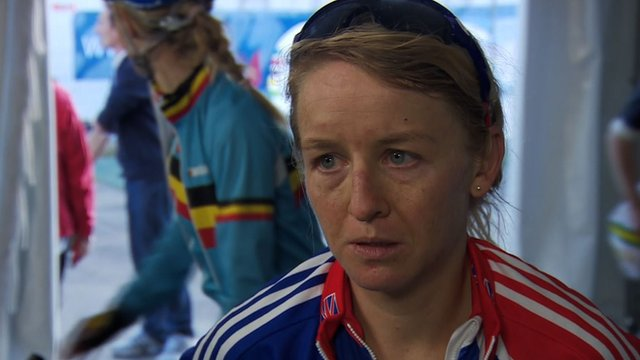 Britain's Emma Pooley