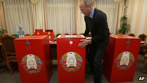 Experts anticipate that Sunday's vote in Belarus will be low key
