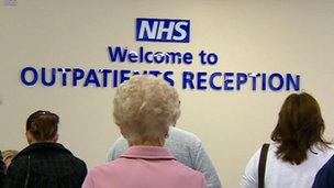 Outpatients reception