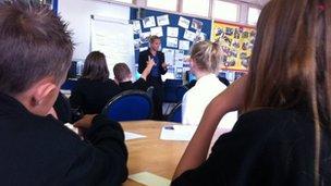 A school in Cardiff
