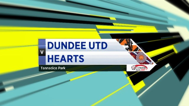 Highlights - Dundee Utd 0-3 Hearts