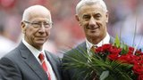 Sir Bobby Charlton (left) and Ian Rush
