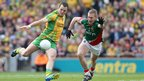 Donegal captain Michael Murphy fires in a third-minute goal for the Ulster champions
