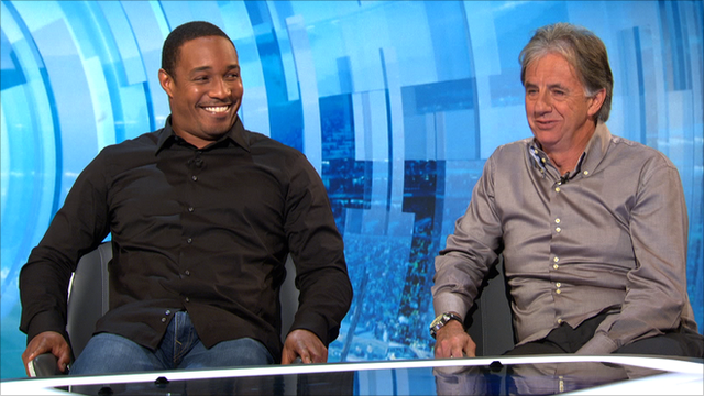 Paul Ince and Mark Lawrenson