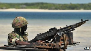 Kenyan soldier (file photo)