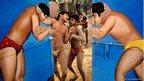 Raghu Rai's wrestlers