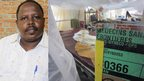 L: Dr Garang Thomas Dhel, who runs Aweil State Hospital R: A ward run by MSF at Aweil State Hospital