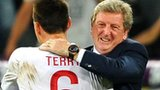 Roy Hodgson embraces John Terry