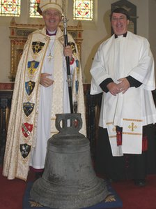 Archbishop Dr Barry Morgan and Canon Stephen Ryan