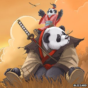 Pandaren concept art