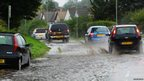 Flooding in Dursley Road, Cam