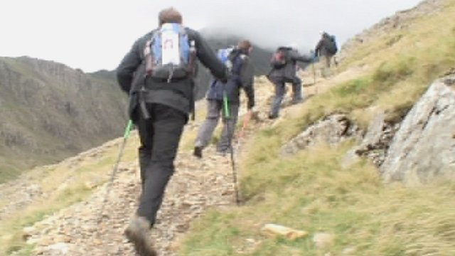 Metropolitan Police officers completed the Three Peaks Challenge.