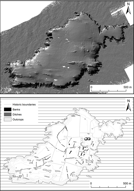 Laser survey images of Skokholm - courtesy Environment Agency