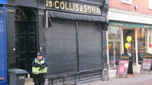 Collis &amp; Son jewellers, Bury St Edmunds