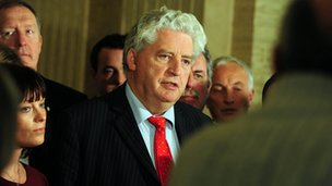 Alasdair McDonnell and SDLP colleagues