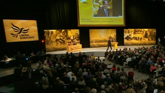 Lib Dem conference in Brighton