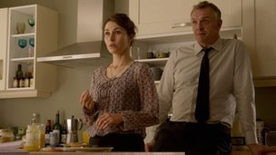 Helen Baxendale and Greg Davies in Cuckoo