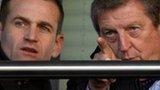 Dan Ashworth and Roy Hodgson