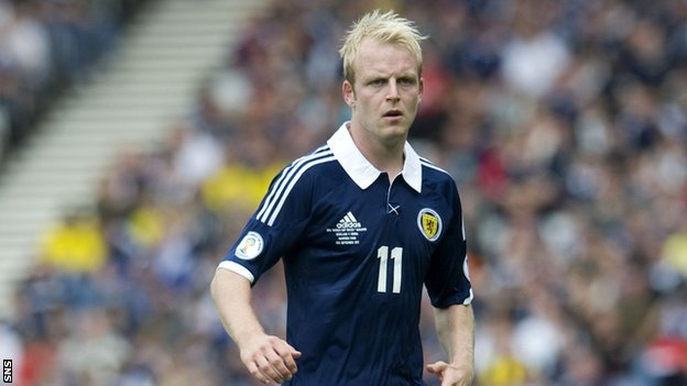 Scotland striker Steven Naismith