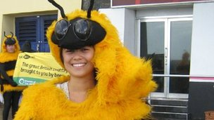 Friends of the Earth bee campaign