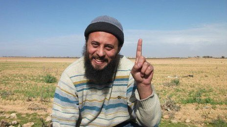 Abubakr Moussa smiling in field