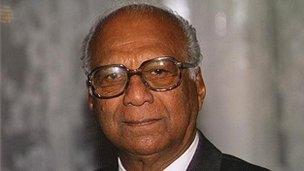 Cheddi Jagan in 1993