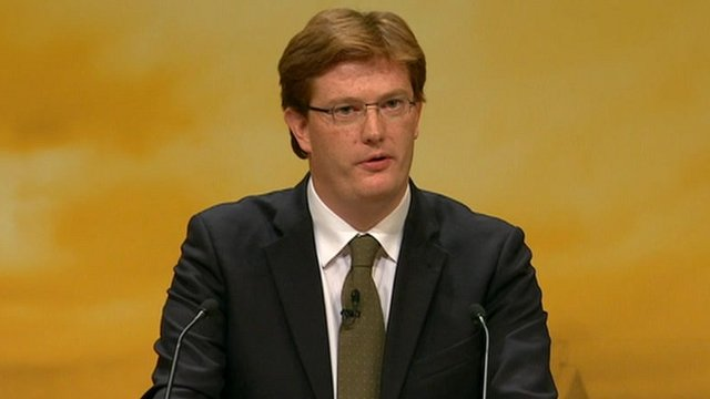 Chief Secretary to the Treasury Danny Alexander