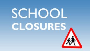 School closures in Suffolk