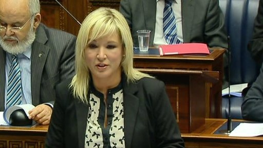 Agricuture Minister Michelle O'Neill