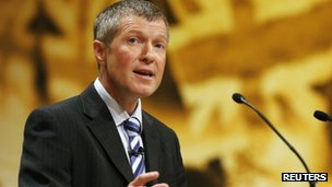 Willie Rennie, at Lib Dem conference