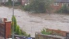 Flooding in Morpeth